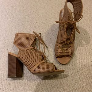 ALDO caged heeled sandals
